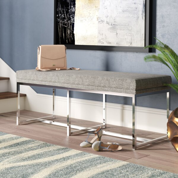 Fadrique Metal Bench by Willa Arlo Interiors