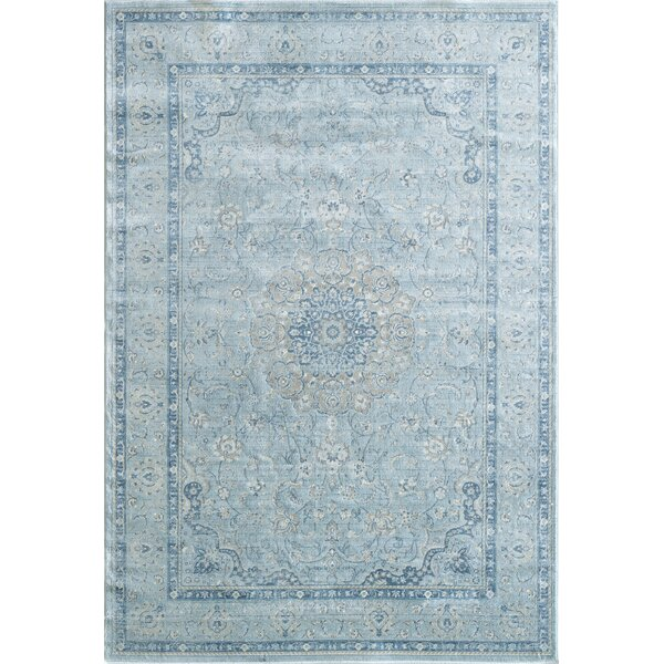 Whyalla Light Blue Area Rug by Ophelia & Co.