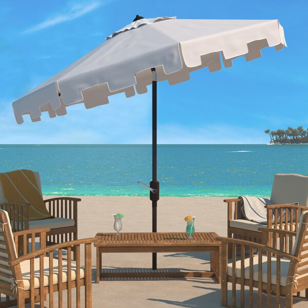 Towerside 11' Beach Umbrella by Breakwater Bay Breakwater Bay