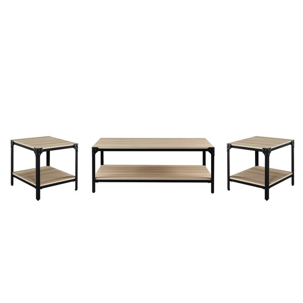 Abby 3 Piece Coffee Table Set By Foundry Select