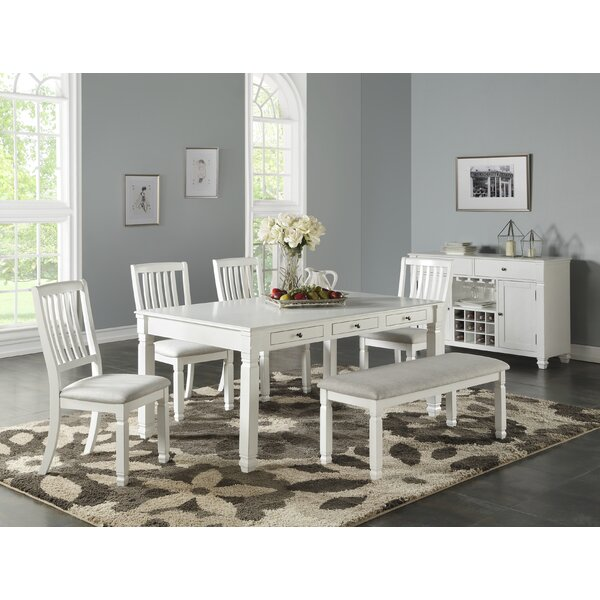 Buford 6 Piece Dining Set by Highland Dunes