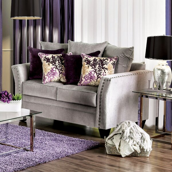Jude Transitional Loveseat By House Of Hampton