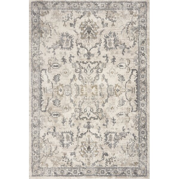 Hernandez Ivory Area Rug by Bungalow Rose