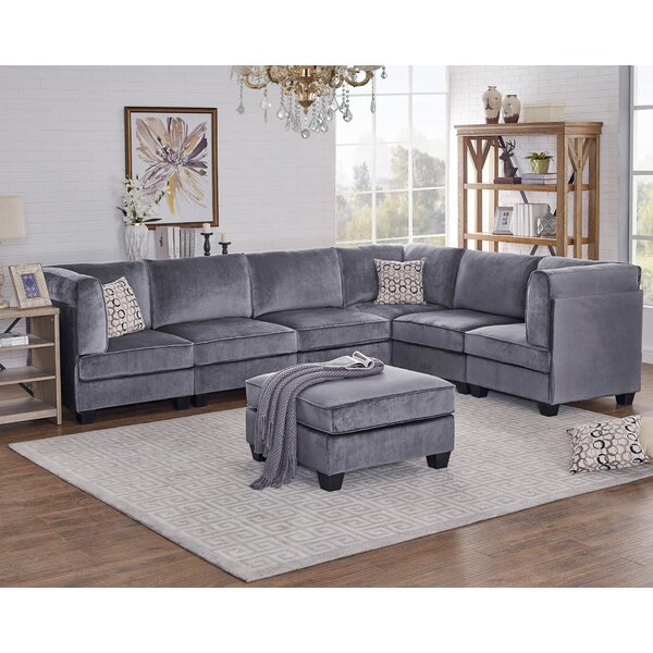 Arleen Modular Sectional with Ottoman by Ivy Bronx