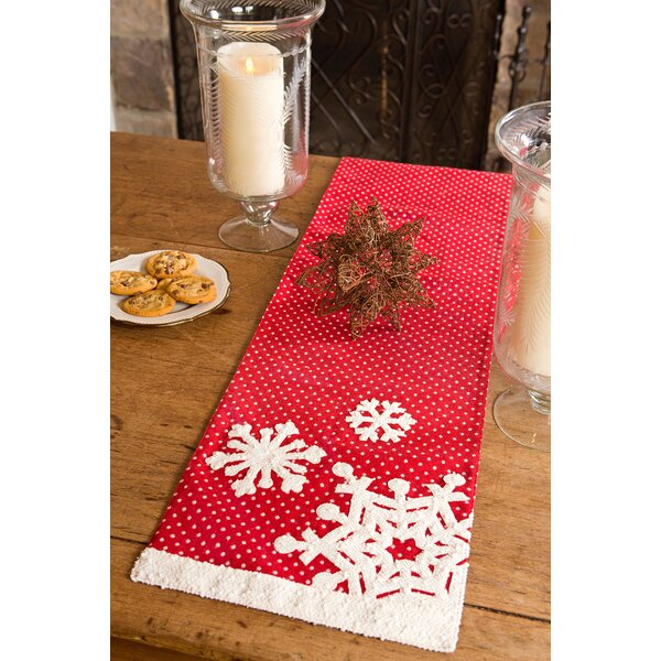 Snowflake Christmas Table Runner by Xia Home Fashions