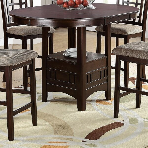 Parkinson Wooden Counter Height Dining Table by Winston Porter