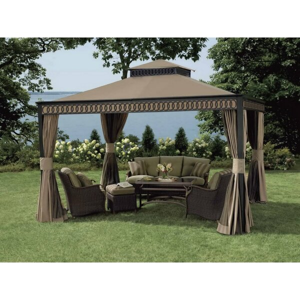 Replacement Canopy (Deluxe) for Alum Fabric Gazebo by Sunjoy