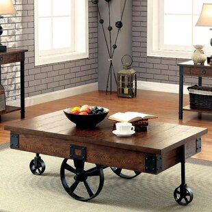 Braden Industrial Coffee Table by 17 Stories