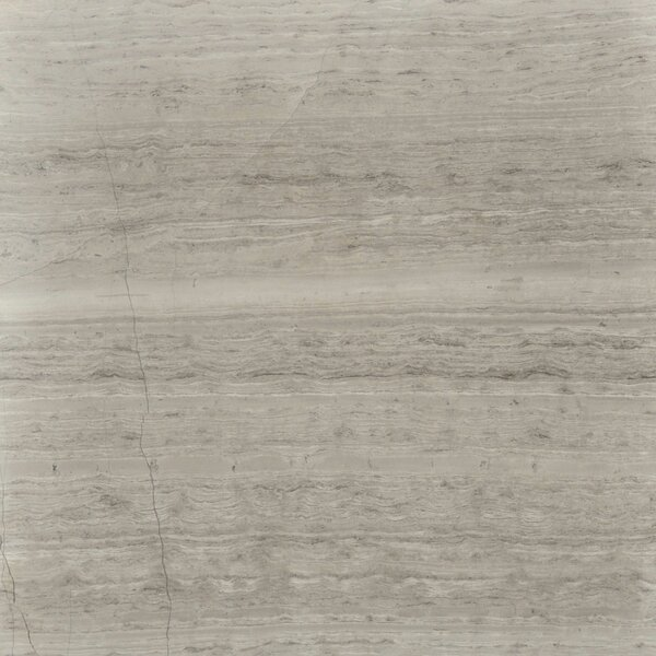 Cerro Hudson 12 x 12 Marble Wood Look/Field Tile in Gray by The Bella Collection