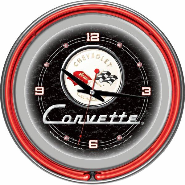 14 Corvette C1 Wall Clock by Trademark Global