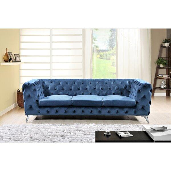 Lavern Chesterfield Sofa by Mercer41 Mercer41