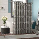 Irie Striped Single Shower Curtain by Willa Arlo Interiors