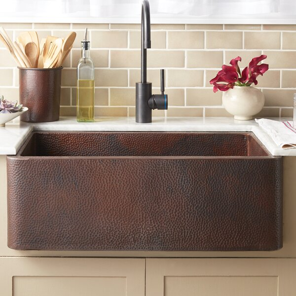 30 L x 19 W Farmhouse Kitchen Sink by Native Trails, Inc.