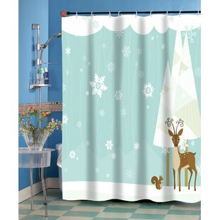 Bargain Forest Friend Shower Curtain ByThe Holiday Aisle