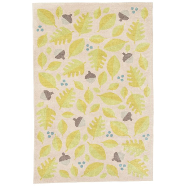 Annie Green/Ivory Area Rug by Viv + Rae