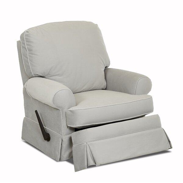 Bingham Swivel Glider Recliner by Wayfair Custom Upholstery™