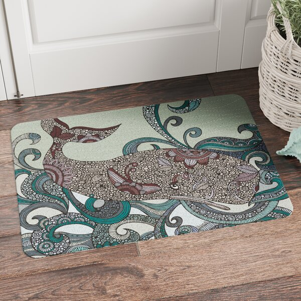 Jacksonville Whale Mat by Beachcrest Home