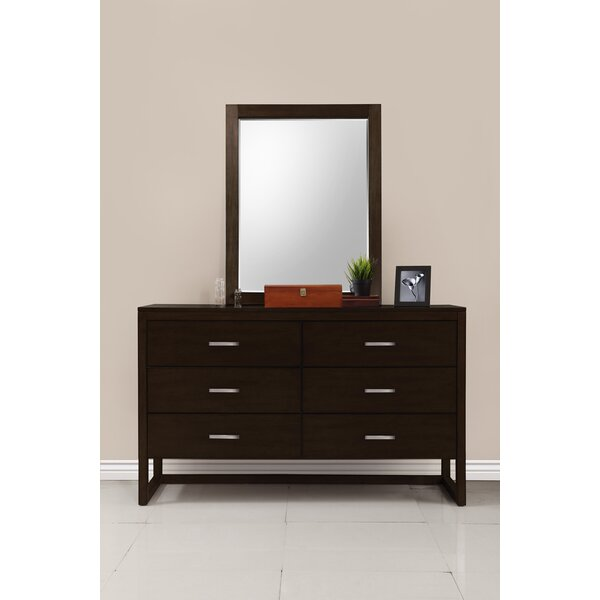 Brisbane Rectangular Dresser Mirror by Domus Vita Design