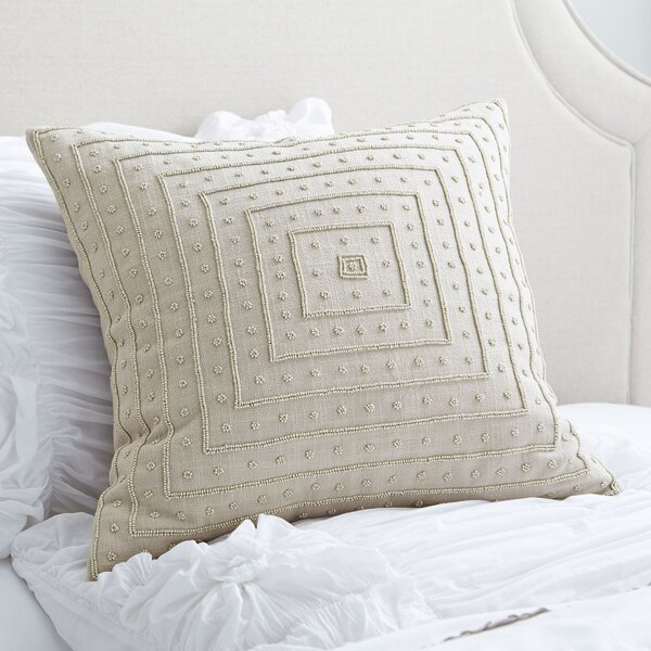 Donalsonville Beaded Pillow Cover by Eider & Ivory