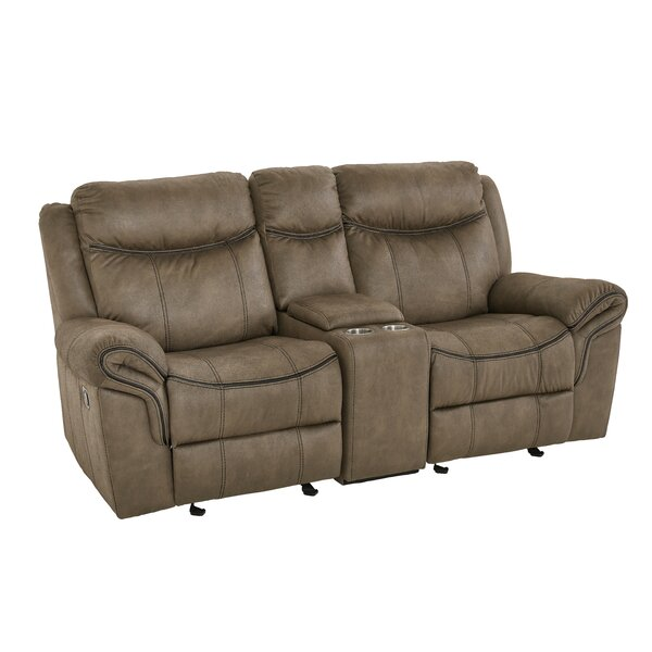 Shop Up And Coming Designers Roloff Reclining Loveseat by Charlton Home by Charlton Home