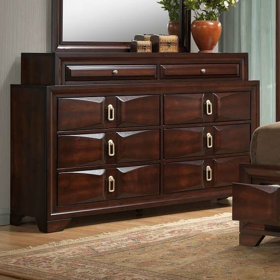 Pax 8 Drawers Double Dresser by Simmons Casegoods by Latitude Run