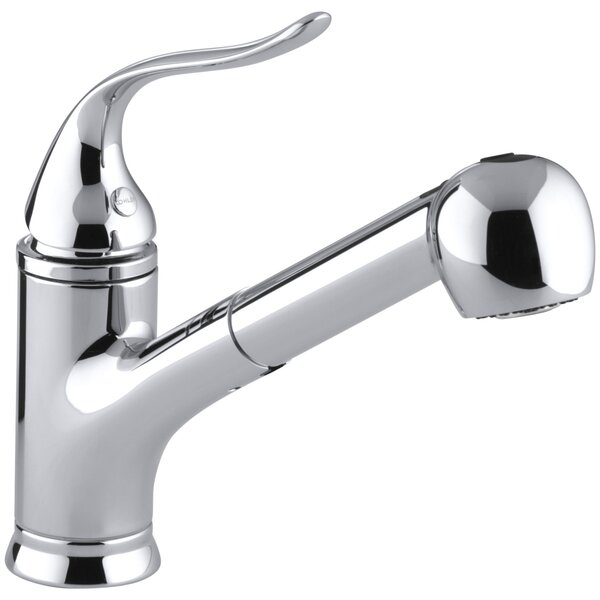 Coralais Pullout Single Handle Kitchen Faucet With MasterClean™ By Kohler