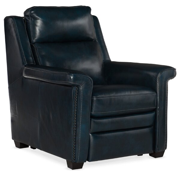 Reynaud Leather Power Recliner By Hooker Furniture