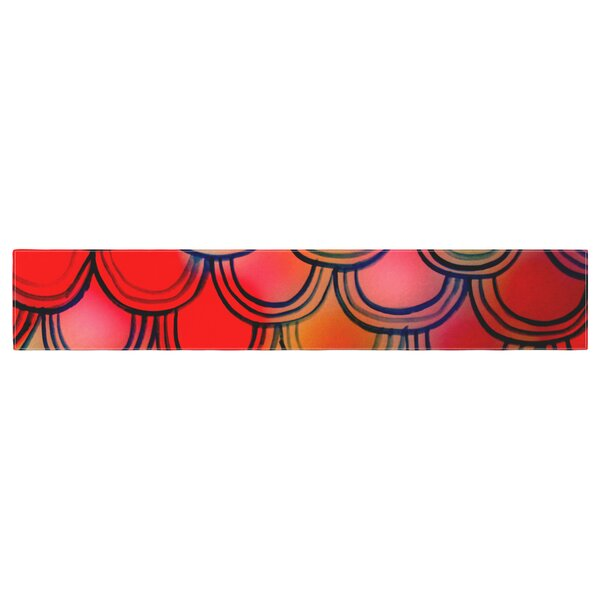 Theresa Giolzetti Dragon Tail Table Runner by East Urban Home