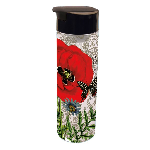 Eloise Poppy Infuser Acrylic 20 oz. Insulated Tumbler by Red Barrel Studio