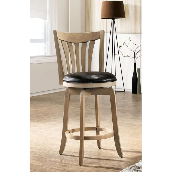 Onique Swivel Bar Stool By One Allium Way