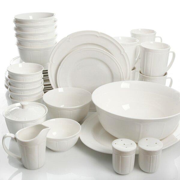 Kirton 37 Piece Dinnerware Set, Service for 6 by Red Barrel Studio