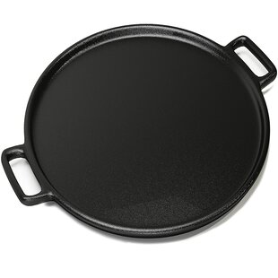 Circle Pizza Plates Cooker Stainless Steel Pizza Deep Dish Pizza Tray Round Baking Pan Nonstick Baking Sheets Pizza Pan 10 Inch for Oven 2Pcs Home Metal Pizza Plate Bakeware Sets