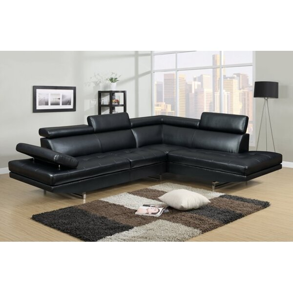 Rhinehart Right Hand Facing Sectional (Set of 2) by Orren Ellis