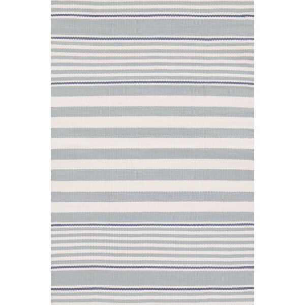 Indoor/Outdoor Blue/White Outdoor Area Rug by Dash and Albert Rugs