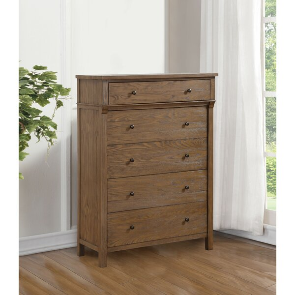 Commonwealth 5 Drawer Chest by Harriet Bee