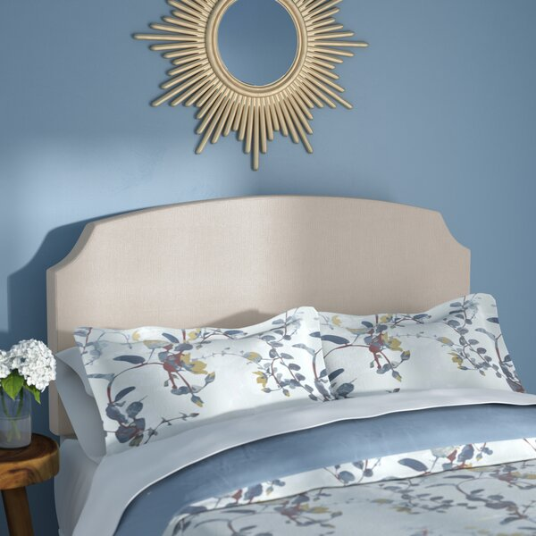 Amoll Upholstered Panel Headboard by Alcott Hill Alcott Hill
