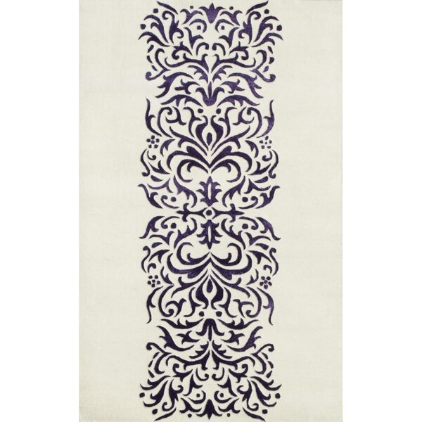Amber Ivory Area Rug by Noble House
