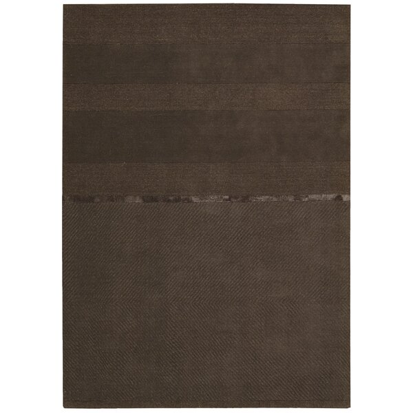 Vale Hand-Loomed Gray Area Rug by Calvin Klein