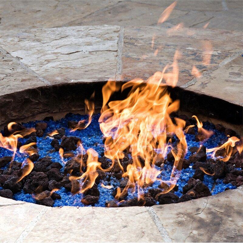 Lava Rock Blends Fire Pit Glass - Fire Pit Essentials Lava Rock Blends Fire Pit Glass Wayfair