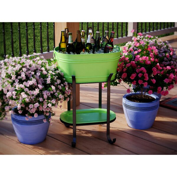 Steel Beverage Tub by Freeport Park