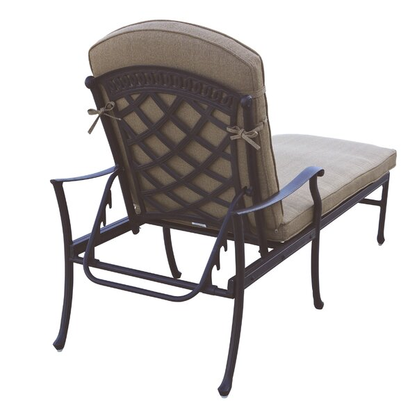 Thompson 3 Piece Chaise Lounge Set with Cushions by Alcott Hill