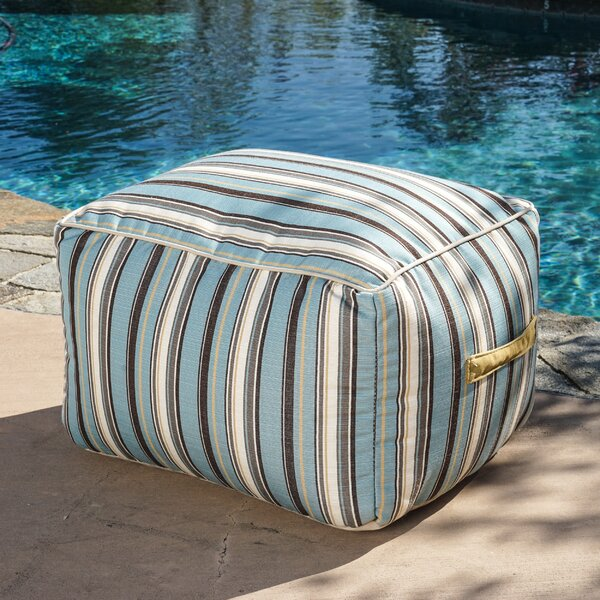 Stripe Outdoor Bean Bag Chair by Rosecliff Heights