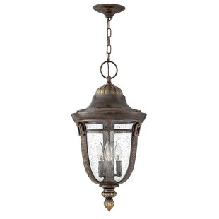 Reviews Key West 3-Light Outdoor Pendant By Hinkley Lighting