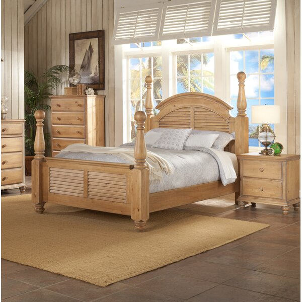 Irish Countryside Four Poster Bed by Minick Wood Products