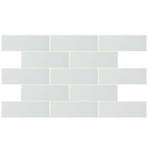 Prospect 4 x 11.75 Ceramic Field Tile in White by EliteTile