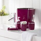 Tous les accessoires de salle de bain: Finition - Rouge ...