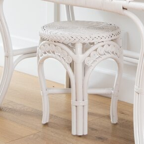 Rosana Rattan Accent Stool by Bayou Breeze