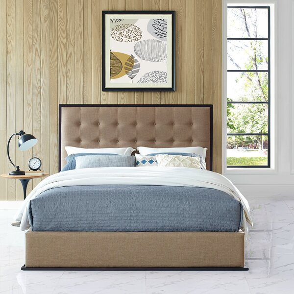 Hann Queen Platform Bed by Charlton Home