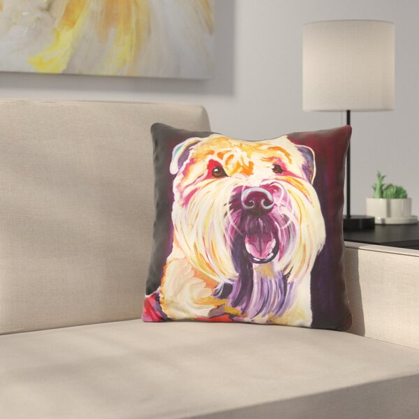 Bailey Boy Throw Pillow by East Urban Home