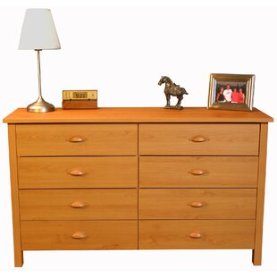 oak products drawers chest wide solid drawer of